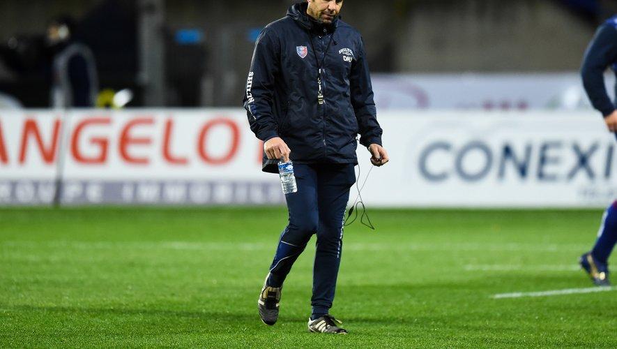 David Aucagne (coach de Béziers)