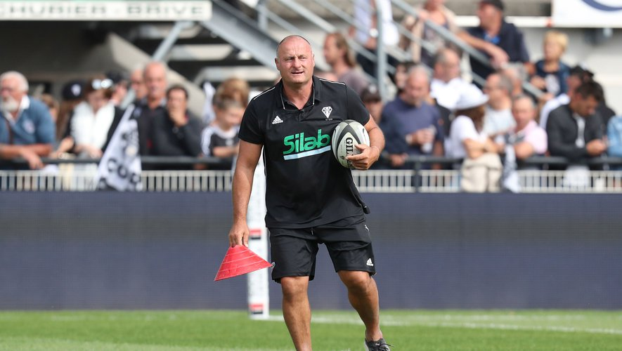 Assistant coach Marc Dal Maso of Brive during the Top 14 match between Brive and Clermont on September 8, 2019 in Brive-la-Gaillarde, France. (Photo by Manuel Blondeau/Icon Sport) - Marc Dal MASO