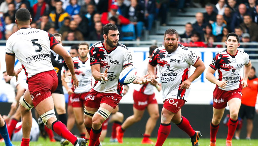 Charles Ollivon of Toulon during the Top 14 match between Castres and Toulon on May 25, 2019 in Castres, France. (Photo by Laurent Frezouls/Icon Sport)