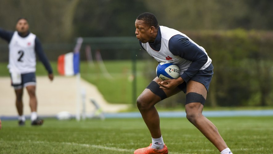 Cameron WOKI during the French Rugby Team training session at Centre national de rugby on March 4, 2020 in Marcoussis, France. (Photo by Aude Alcover/Icon Sport) - Cameron WOKI - Marcoussis (France)