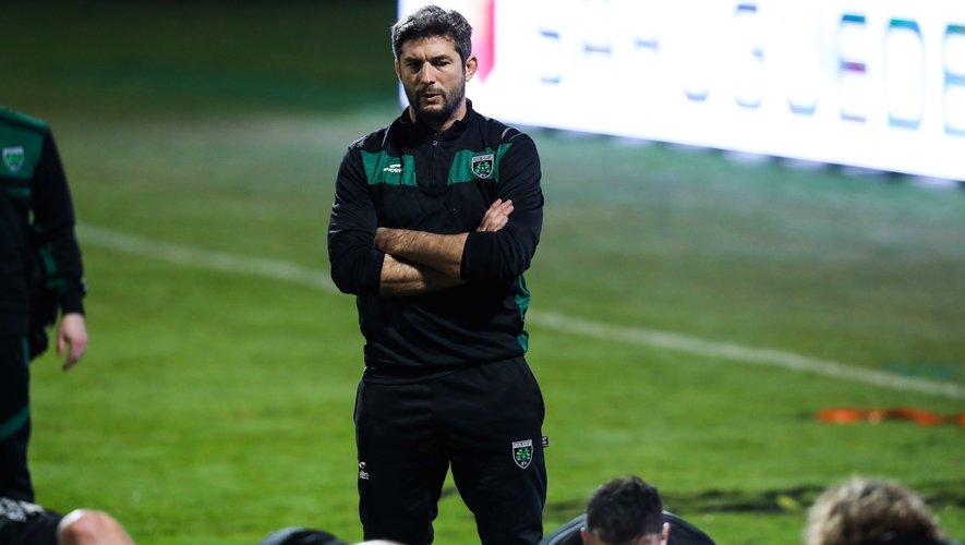 Jean Bouilhou (Montauban) lors du match contre Oyonnax le 31 janvier 2020