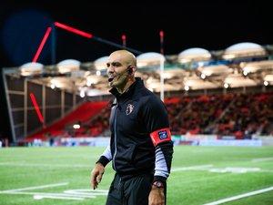Joe El Abd, 40 ans, va entamer sa deuxième saison en tant que manager d'Oyonnax