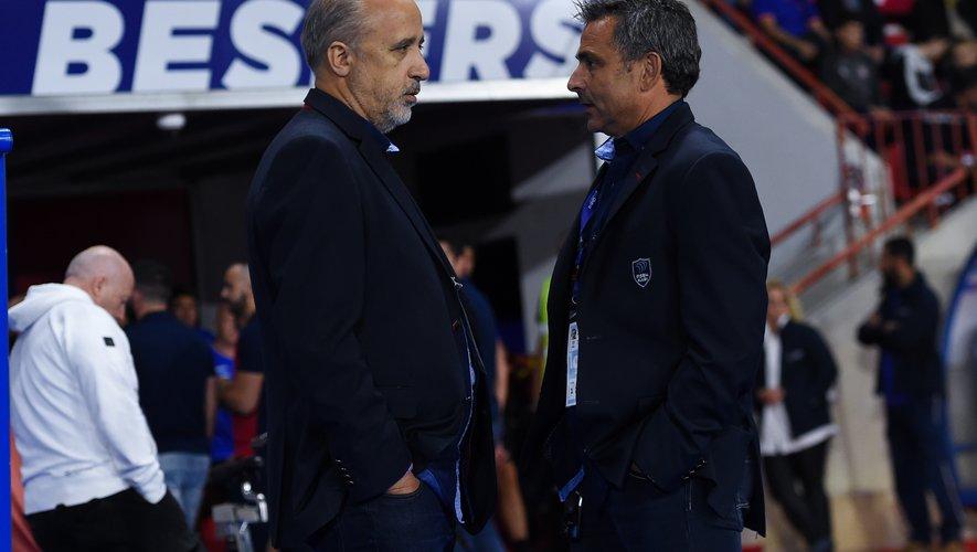 Pierre-Olivier Valaize, à gauche, et Cédric Bistué, à droite, ont préparé un plan B.