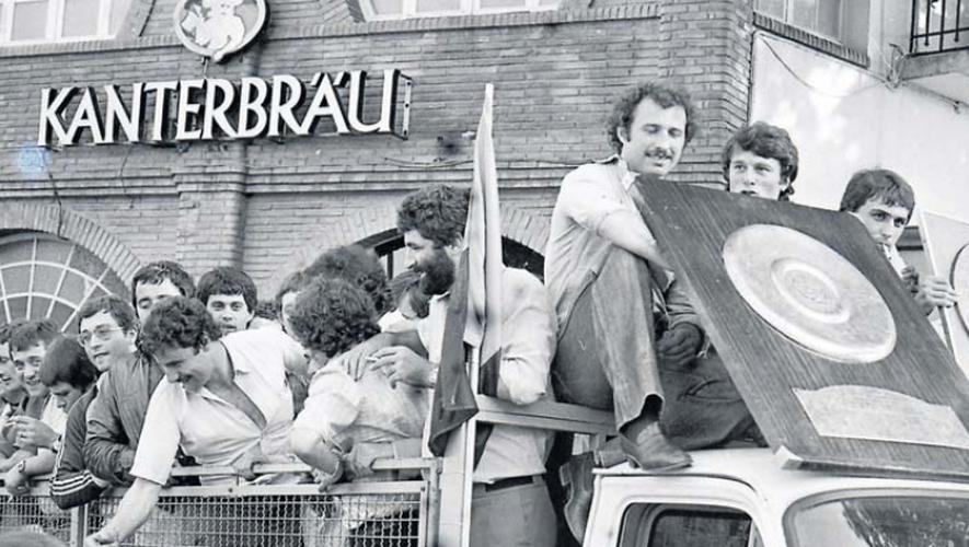 1979 reste dans les annales du rugby français avec un Narbonne au sommet de son art, vainqueur de cinq titres en cette saison 1978-1979, dont celui de champion de France, avec un Bouclier de Brennus honoré comme il se doit dans les rues de la cité audoise, et le challenge Du-Manoir, en finale contre face à Montferrand.