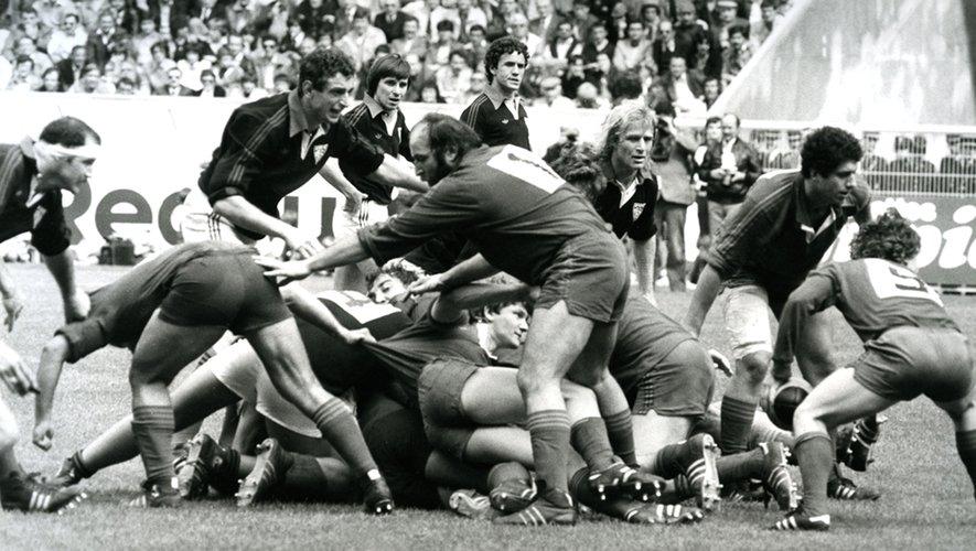 Finale du championnat de France 1980 face au Stade toulousain.