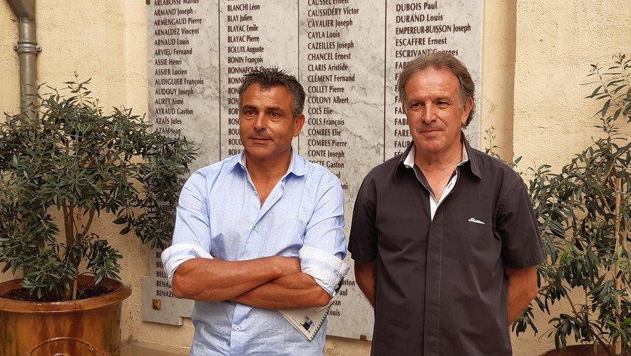 Michaël Guedj (à gauche) fondateur de la marque Shilton, est le nouveau co-président de l'ASBH en compagnie de Jean-Michel Vidal