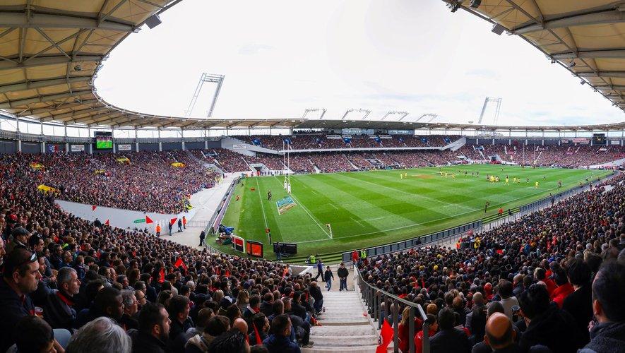 Vue générale du Stadium municipal de Toulouse.