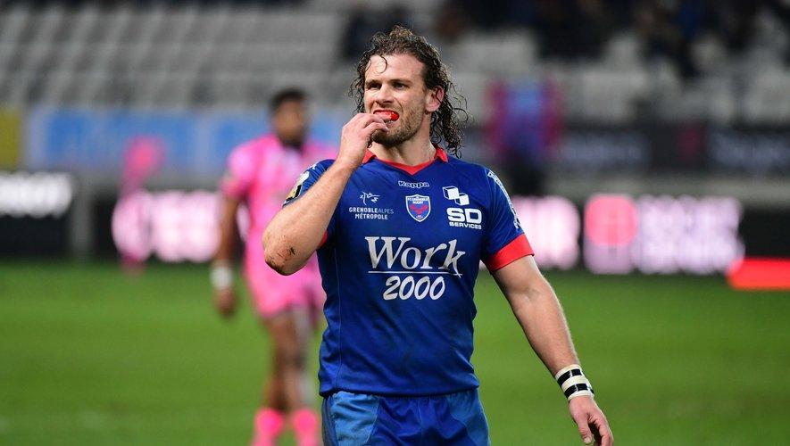 Le néo-retraité Fabien Alexandre, ici sous le maillot de Grenoble, évoluera cette saison à Voiron.
