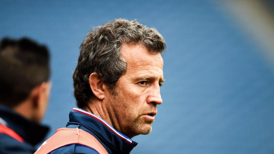 Fabien Galthié (sélectionneur des Bleus)
