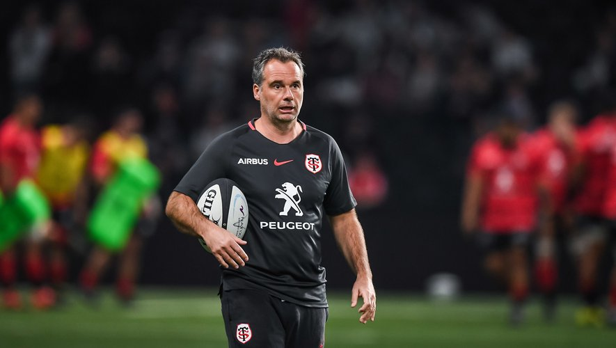 Ugo MOLA head coach of Toulouse before the French Top 14 Rugby match between Racing 92 and Stade Toulousain at Paris La Defense Arena on February 16, 2020 in Nanterre, France. (Photo by Baptiste Fernandez/Icon Sport) - Ugo MOLA - Paris La Defense Arena - Paris (France)