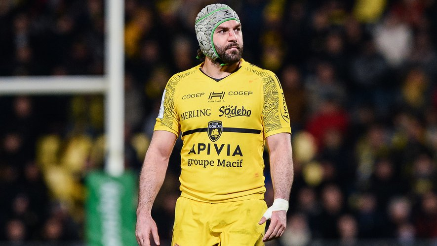 Kevin GOURDON of Stade Rochelais during the European Rugby Champions Cup, Pool 2 match between La Rochelle and Sale Sharks at Stade Marcel-Deflandre on January 10, 2020 in La Rochelle, France. (Photo by Baptiste Fernandez/Icon Sport) - Kevin GOURDON - Stade Marcel-Deflandre - La Rochelle (France)