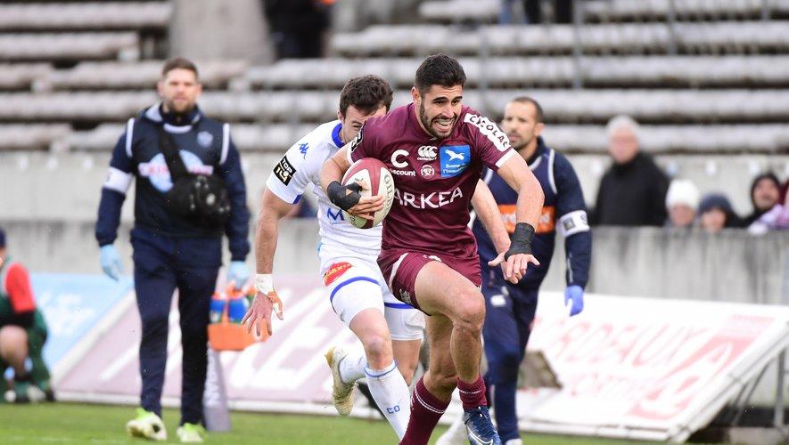 L'arrière de l'Union Bordeaux-Bègles Romain Buros (23 ans) a paraphé la semaine dernière un nouveau contrat en faveur du club girondin.