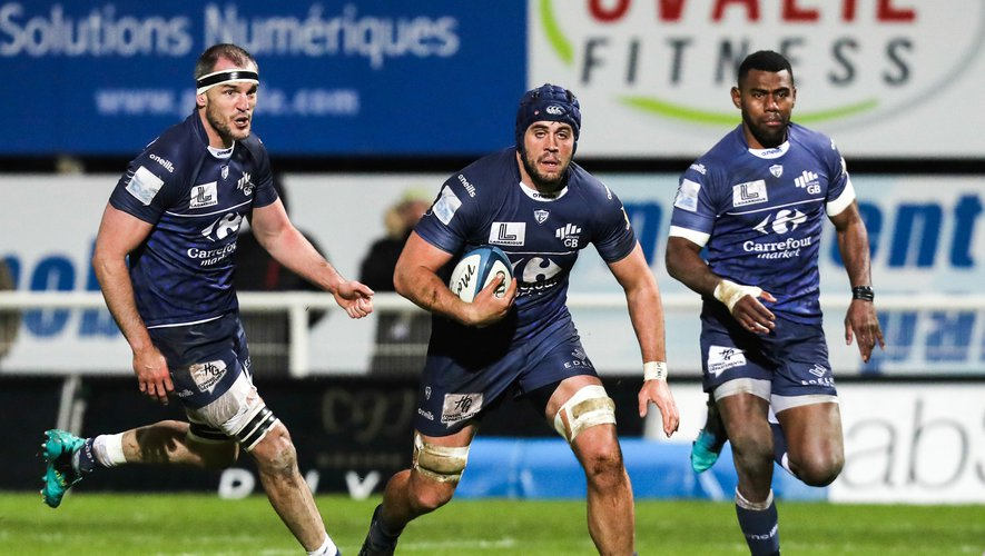 Maxime GRANOUILLET of Colomiers during the Pro D2 match between Colomiers and Provence on March 6, 2020 in Colomiers, France. (Photo by Manuel Blondeau/Icon Sport) - Maxime GRANOUILLET - Stade Michel Bendichou - Colomiers (France)