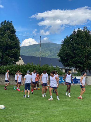 L'équipe de France de rugby à 7