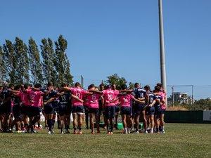 Les joueurs et le staff parisien s'étaient réunis à Nice pour un stage de préparation
