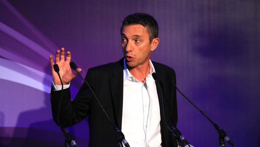EPCR's Vincent Gaillard during the launch event at Twickenham Stoop, London.