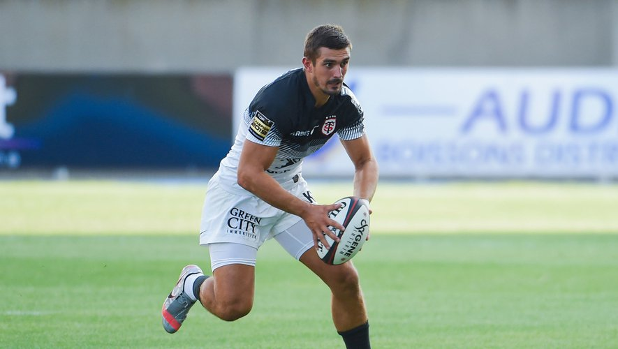 Thomas RAMOS of Toulouse during the pre season friendly match between Beziers and Toulouse on August 14, 2020 in Beziers, France. (Photo by Alexandre Dimou/Icon Sport) - Thomas RAMOS