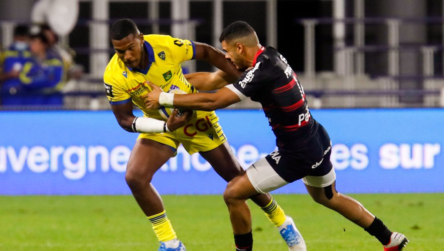 Cheikh TIBERGHIEN of Clermont during the Top 14 match between ASM Clermont and Stade Toulousain at Parc des Sport Marcel-Michelin on September 6, 2020 in Clermont-Ferrand, France. (Photo by Romain Biard/Icon Sport) - Cheikh TIBERGHIEN - Stade Marcel Michelin - Clermont Ferrand (France)