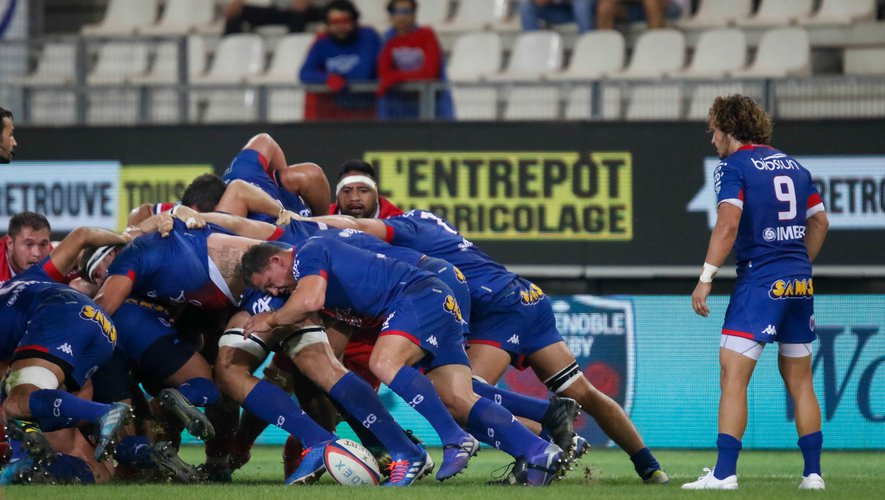 Deon Fourie (Aurillac) contre Grenoble