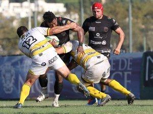 Pour son premier match de la saison, le Stade niçois fait match nul contre Albi.  Les Niçois ont raté quatre occasions et peuvent nourrir des regrets. Photo MaxPPP