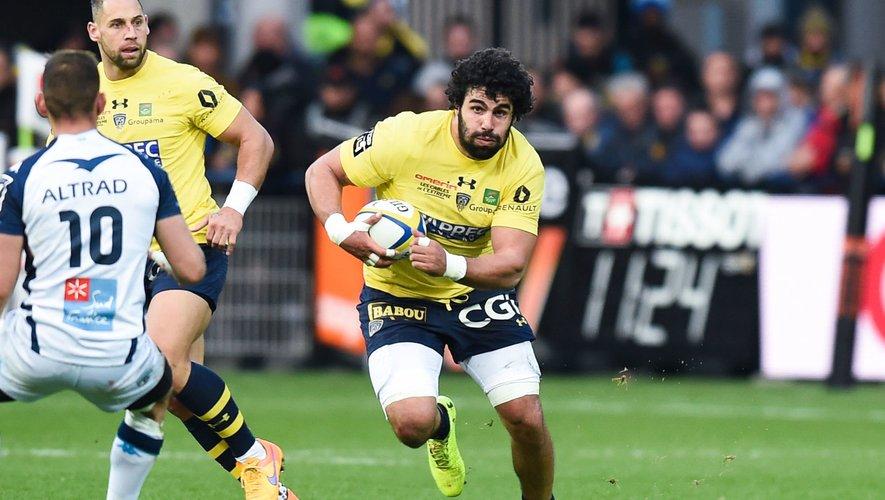 Top 14 - Viktor Kolelishvili (Clermont) contre Montpellier