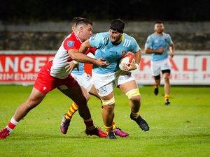 Face à Rouen, les Catalans d'Alban Roussel doivent l'emporter afin d'affirmer leur statut d'ambitieux tournés vers le Top 14.  Photo Icon Sport