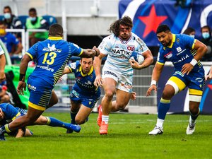 Camille Chat (Racing 92), face à l'ASMCA.
