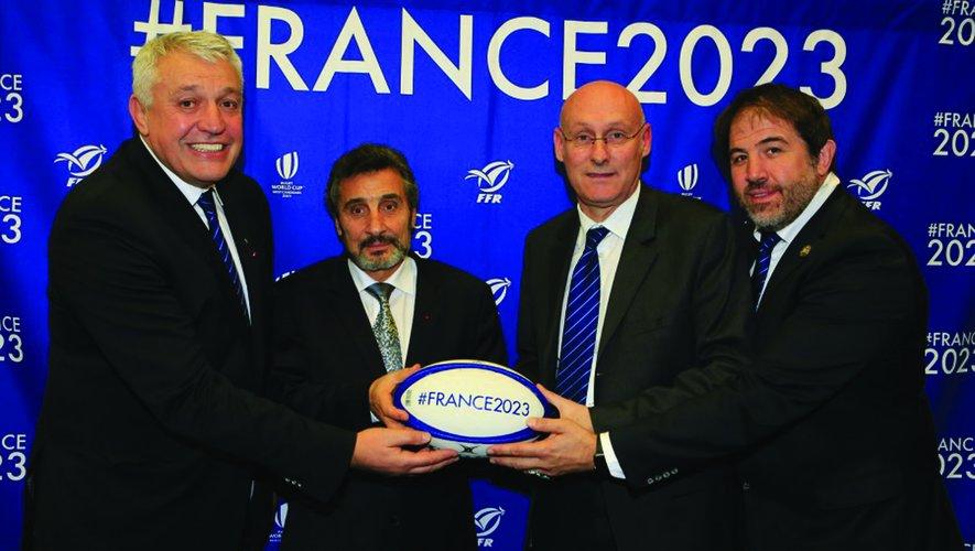 Atcher, Altrad, Laporte et Simon ensemble pour France2023