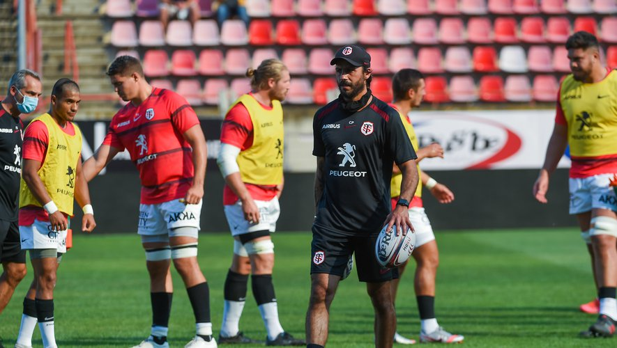 Clement POITRENAUD assistant coach of Toulouse during the pre season friendly match between Beziers and Toulouse on August 14, 2020 in Beziers, France. (Photo by Alexandre Dimou/Icon Sport) - Clement POITRENAUD