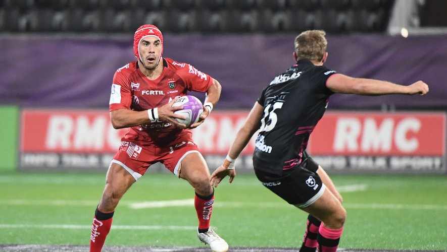 Gabin VILLIERE of Toulon during the Final Challenge Cup match between Bristol Bears and RC Toulon on October 16, 2020 in Aix-en-Provence, France. (Photo by Anthony Dibon/Icon Sport) - Gabin VILLIERE - Stade Maurice David - Aix en Provence (France)