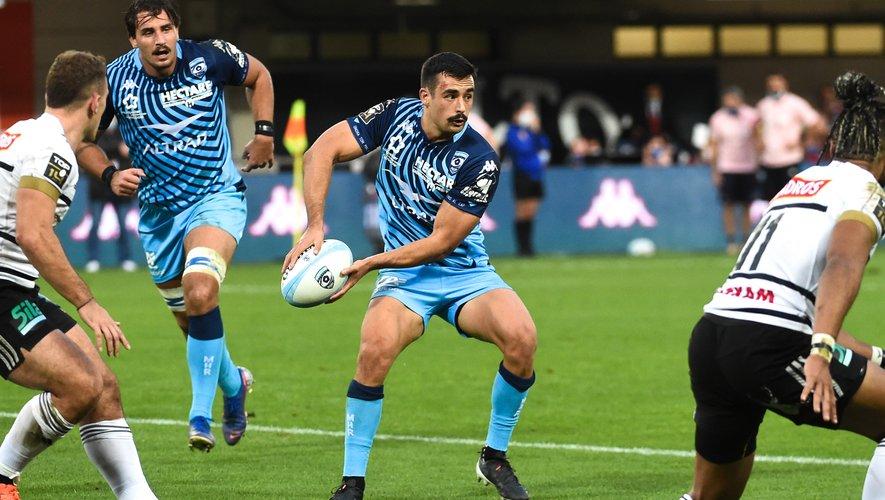 Alex LOZOWSKI (Montpellier), face à Brive.