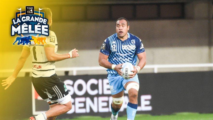 Top 14 - Caleb Timu (Montpellier) face à Brive