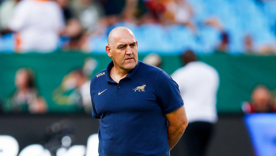 Mario Ledesma (Head Coach) of Argentina  during the Rugby World Cup Warm Up match between South Africa v Argentina at Loftus Versfeld, South Africa. August 17th 2019 . Photo : Steeve Haag / Icon Sport
