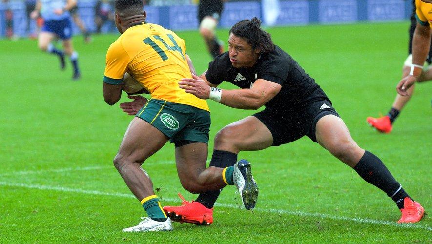 Les ailiers Filipo Daugunu et Caleb Clarke vont une nouvelle fois se croiser pour l'ouverture de ce Rugby Championship.