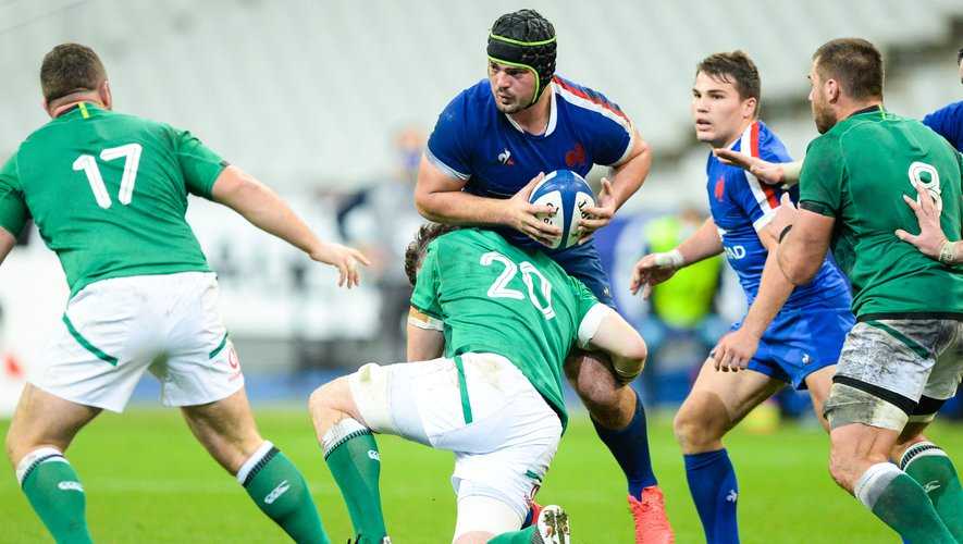 Grégory Alldritt (France) contre l'Irlande