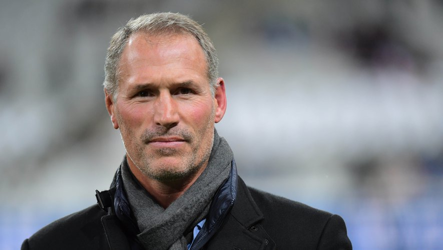 Former France international Olivier Magne during the Test match between France and South Africa on November 10, 2018 in Paris, France. (Photo by Dave Winter/Icon Sport)