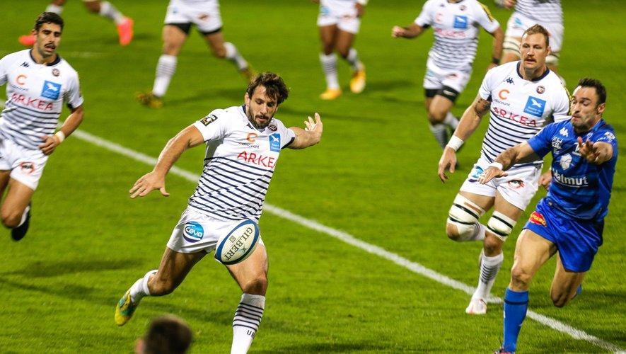 Très important au centre de l'attaque girondine, Rémi Lamerat a contribué au succès girondin contre son ancienne équipe.