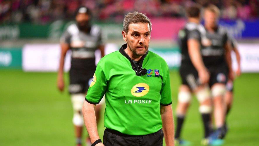 Jérôme Garces lors du match Stade français - Brive