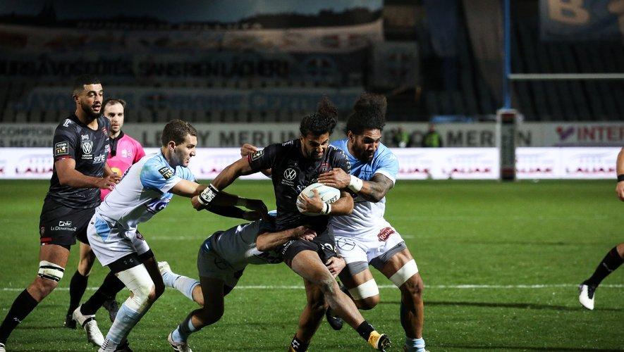 Erwan Dridi s'est battu en vain face à l'Aviron.