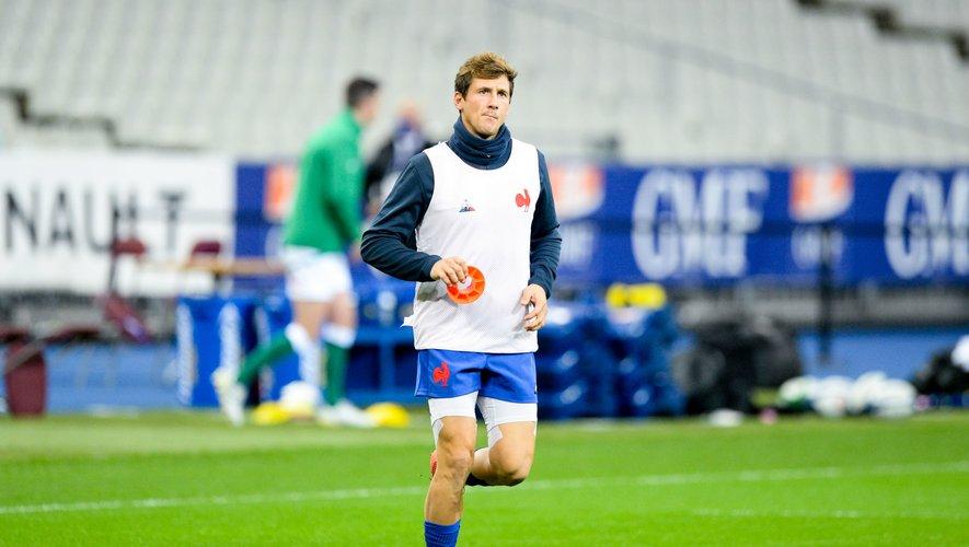 Baptiste Serin sera capitaine face à l'Italie.