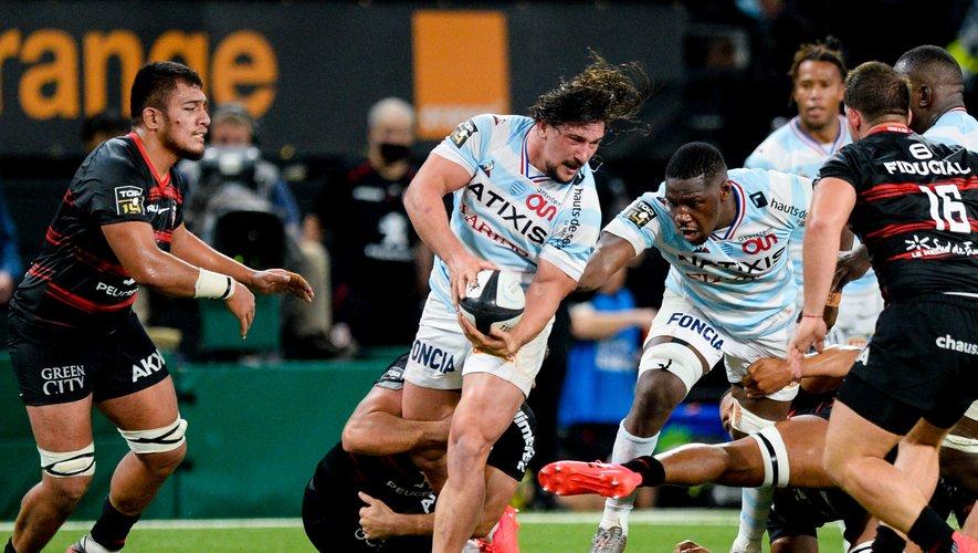 Au sortir d'une bonne prestation avec le XV de France, Camille Chat devrait enchaîner en club face à Bayonne. Photo Icon Sport