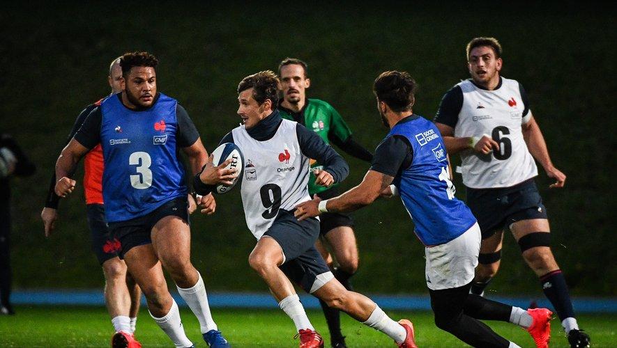Baptiste Serin retrouve un poste de titulaire avec le XV de France contre l'Italie samedi soir