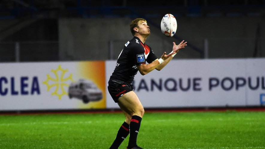 Jeremy LE BOURHIS  of Oyonnax  during the Pro D2 match between Beziers and Oyonnax at Stade de la Mediterranée on October 29, 2020 in Beziers, France. (Photo by Alexandre Dimou/Icon Sport) - Yohan Le BOURHIS - Stade de la Mediterranee - Béziers (France)