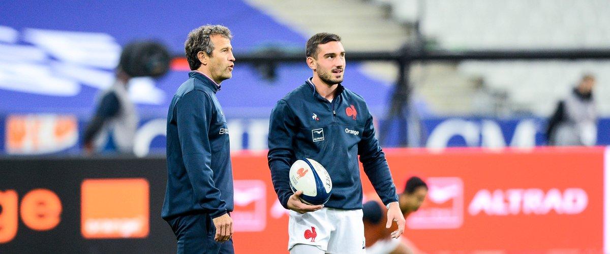 Capitaine en club, Baptiste Couilloud étrennera ses galons au niveau international ce dimanche qui plus est à Twickenham. Photo Icon Sport