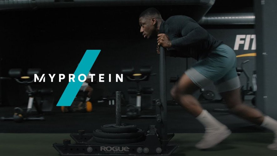 « MyProtein se tourne vers le rugby »