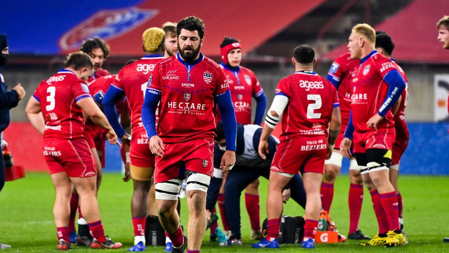Jonathan BEST of Beziers  during the Pro D2 match between Beziers and Nevers at Stade de la Mediterranée on January 8, 2021 in Beziers, France. (Photo by Alexandre Dimou/Icon Sport) - Stade de la Mediterranee - Béziers (France)