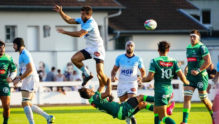 Les Bayonnais d'Aymeric Luc vont retrouver les Palois de Charly Malié dans un match très important dans l'optique du maintien. Photo Icon Sport