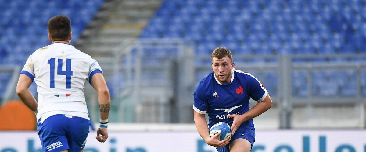 Pierre BOURGARIT of France during the Six Nations Tournament match between Italy and France at Olimpico stadium on February 6, 2021 in Rome, Italy. (Photo by Anthony Dibon/Icon Sport) - Pierre BOURGARIT - Stadio Olimpico - Rome (Italie)