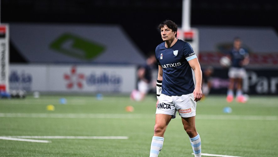 Francois TRINH DUC of Racing 92 ahead of the French Top 14 rugby match between Racing 92 and Stade Rochelais at La Defense Arena on February 7, 2021 in Nanterre, France. (Photo by Baptiste Fernandez/Icon Sport) - Francois TRINH DUC - Paris La Defense Arena - Paris (France)