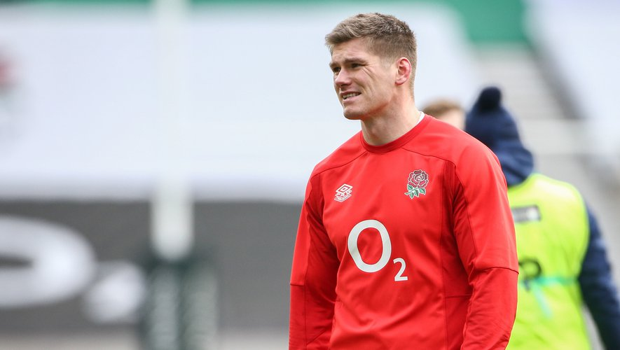 Owen Farrell (c) before the England v Italy the Guinness 6 Nations match at Twickenham Stadium, Twickenham Picture by Mark Chappell/Focus Images Ltd +44 77927 63340 13/02/2021  By Icon Sport - Twickenham - Londres (Angleterre)